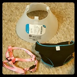 Extra Small Dog Harness & Cone Bundle